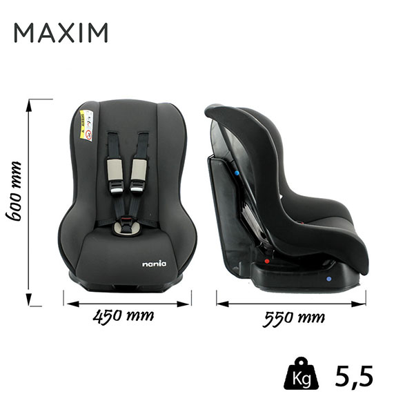 MAXIM-dimensions